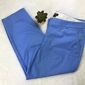J. Crew City Fit Cropped Pants Periwinkle